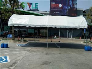 4x8m curved tent for rent